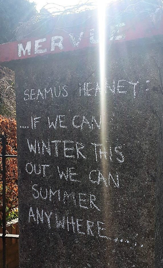 Seamus Heaney quote