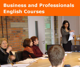 Business and Professionals English for Work courses in Ireland and United Kingdom