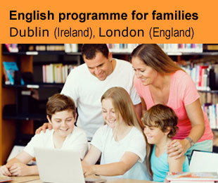 English programme for families