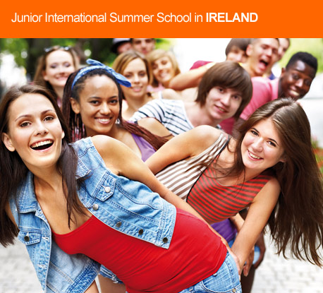 Junior English courses in Ireland & United Kingdom