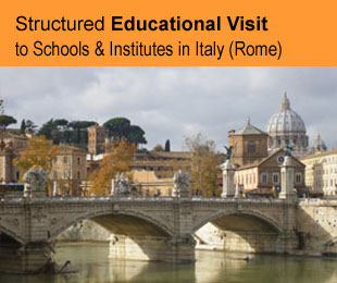 Erasmus course for teachers: Structured Educational Visit to Schools/Institutes in Italy