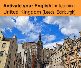Erasmus plus courses for teachers: Activate your English for teaching in UK