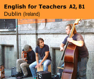 Erasmus plus courses for teachers: English for Teachers A2, B1 in Ireland