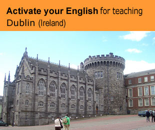 Erasmus plus courses for teachers: Activate your English for teaching in Ireland